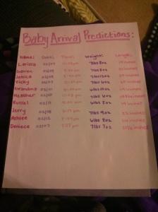 babypredictions
